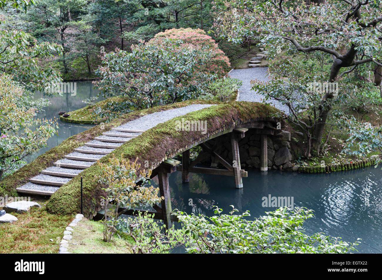 Kyoto, Japan. The gardens of the Katsura Imperial Villa (Katsura Stock Photo,...