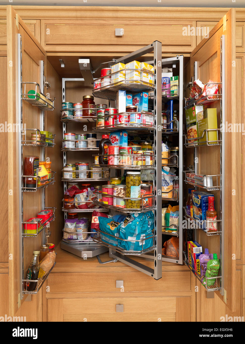 Inside Kitchen Cabinets Organization