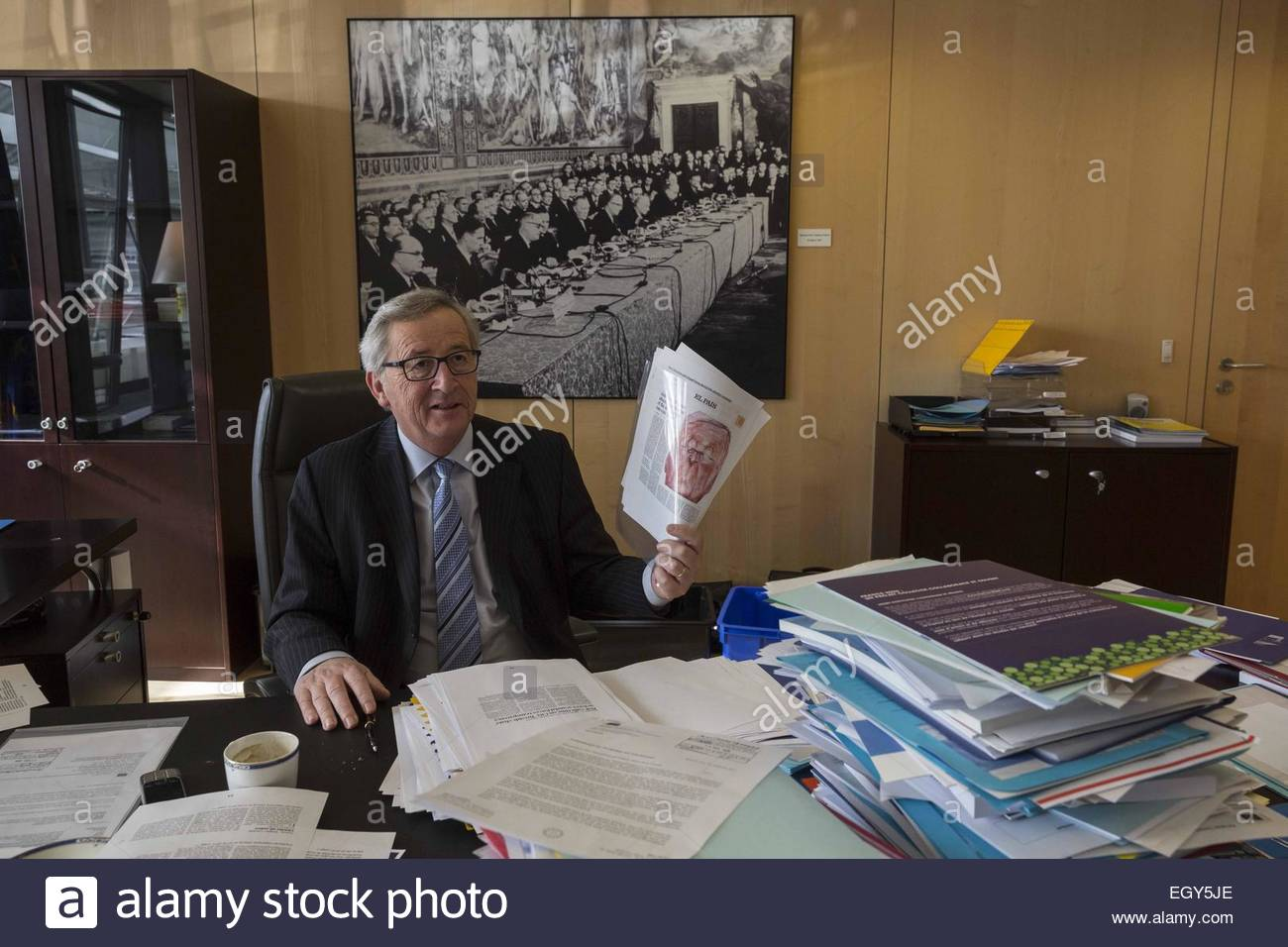Brussels belgium 27th feb 2015 european commission president stock photo royalty free image - European commission office ...