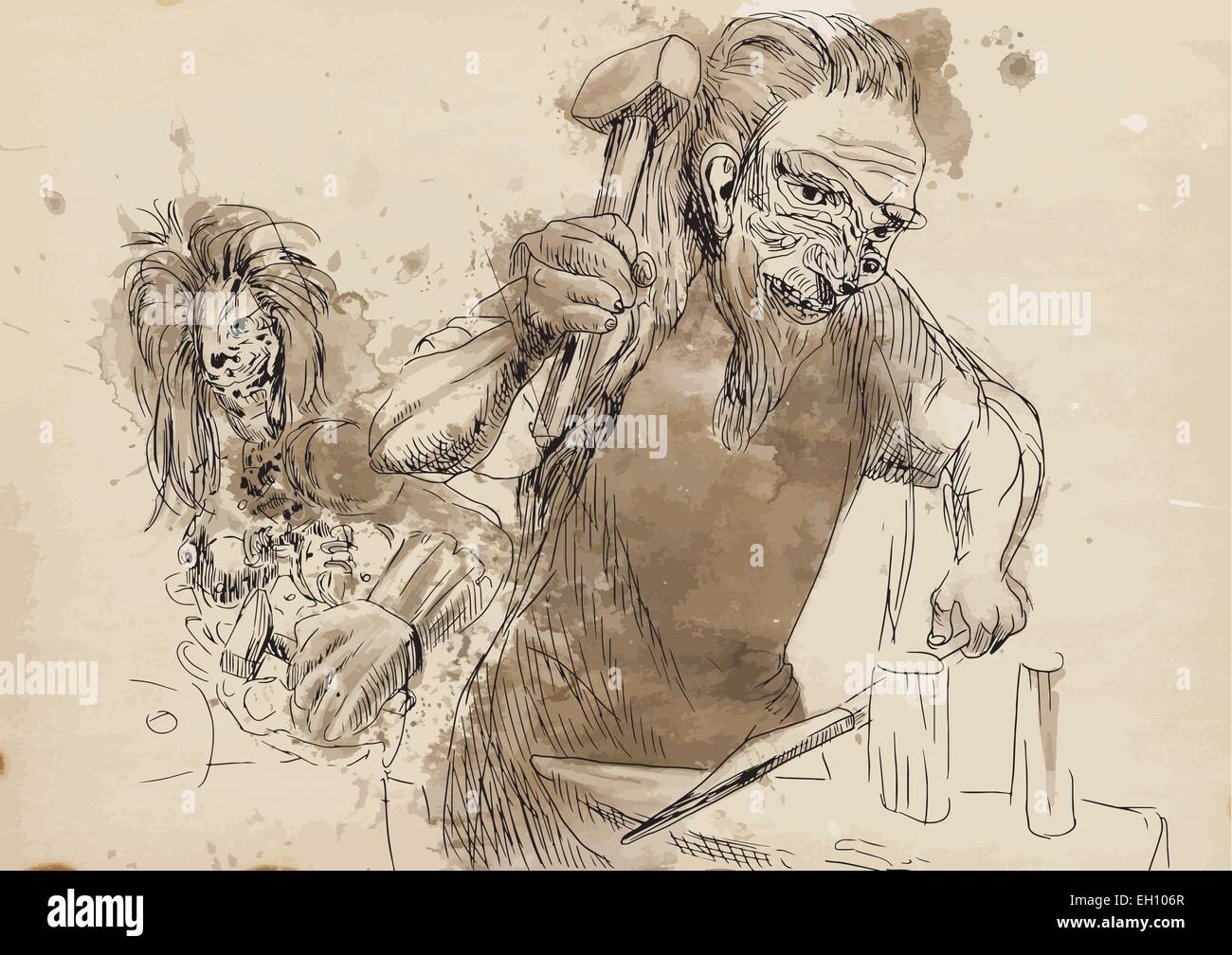 hephaestus is the greek god of blacksmiths craftsmen artisans