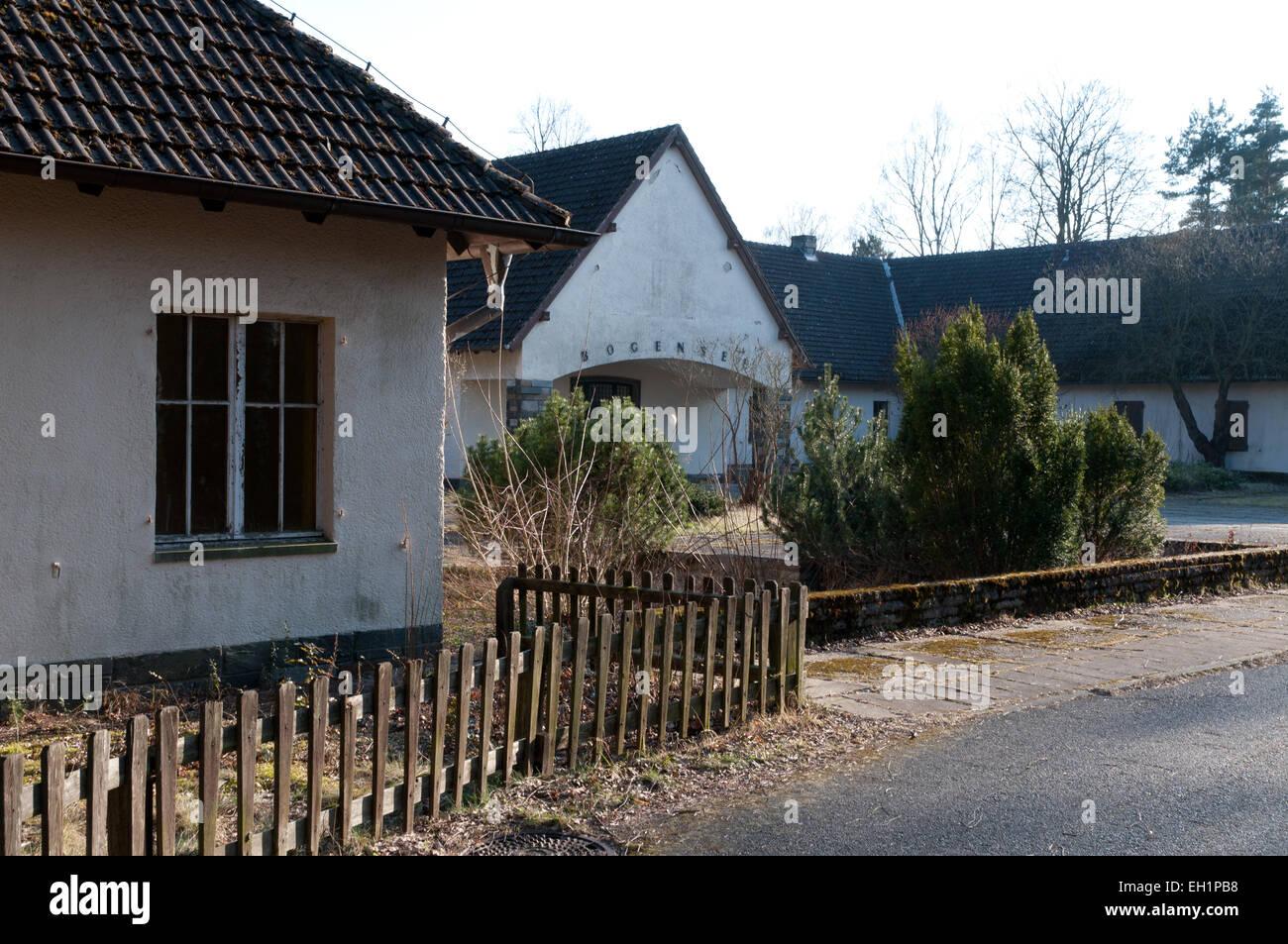 Former Villa Of Joseph Goebbels At Lake Bogensee