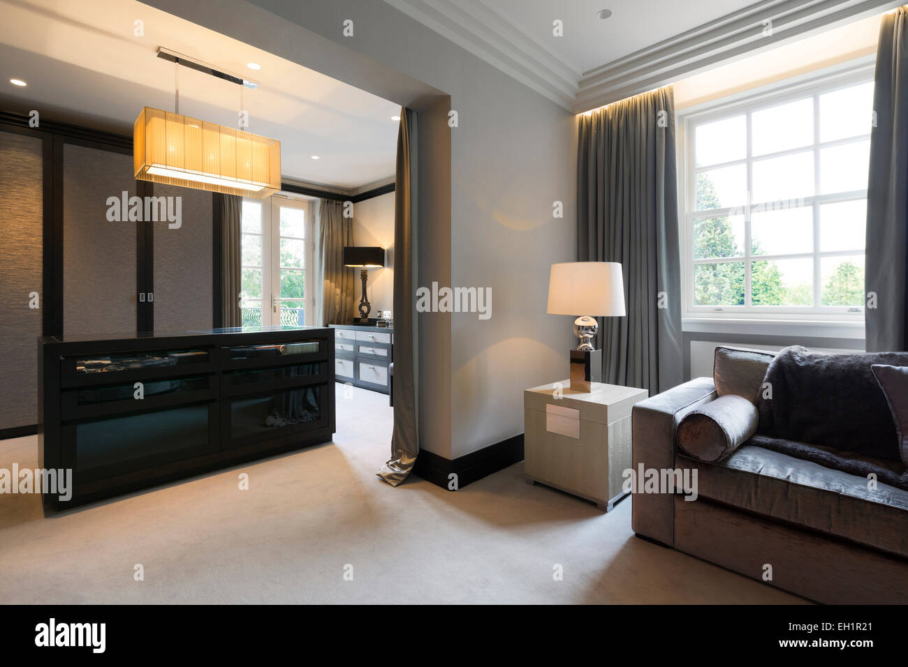 Luxurious Interior Designed Home In Harrogate Master Dressing - Dressing room designs in the home