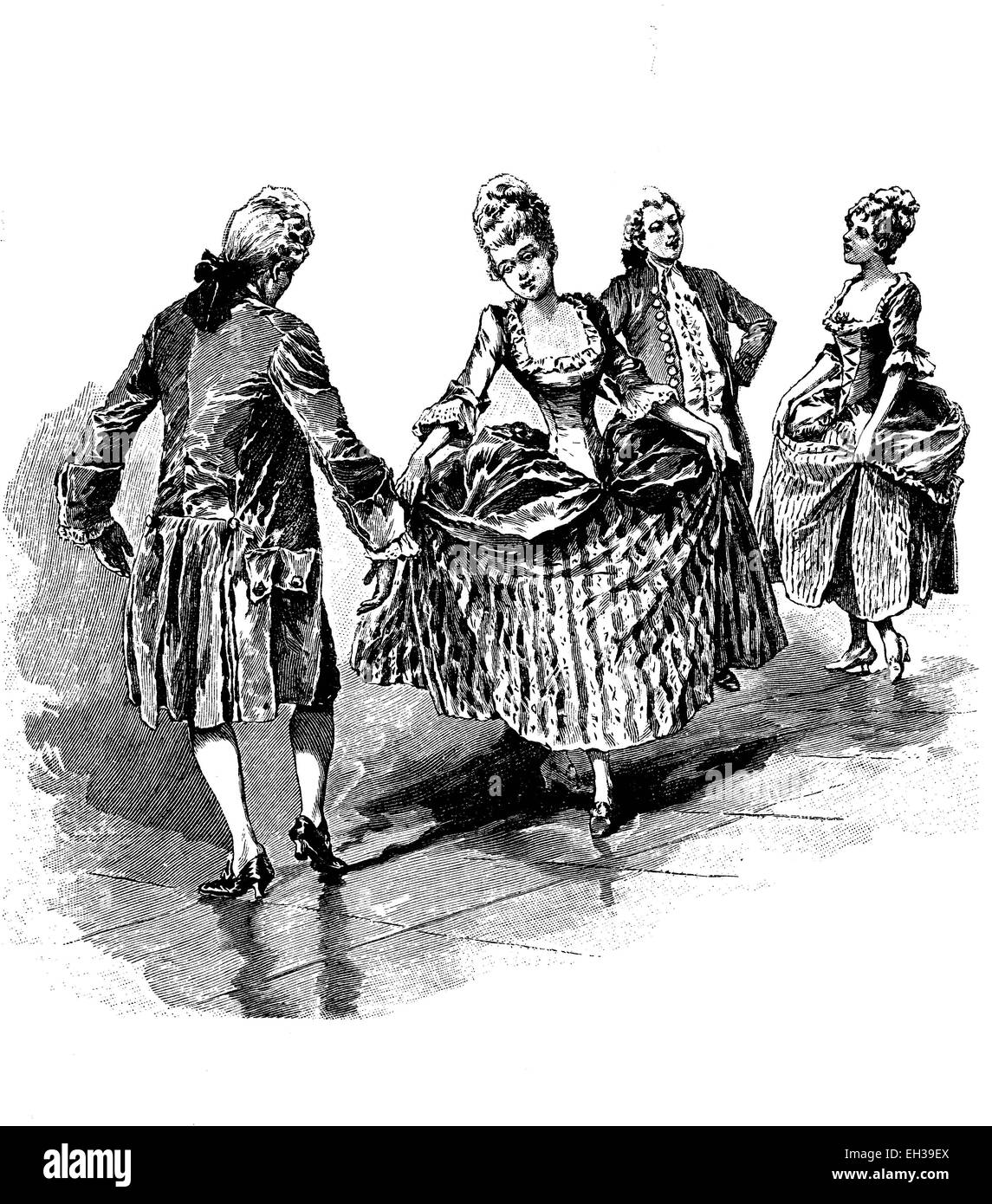 old time dance instructions
