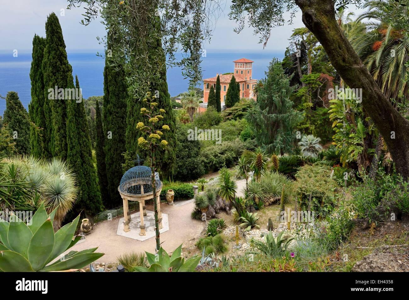 Italy Ventimiglia Cap Mortola Near Menton In France