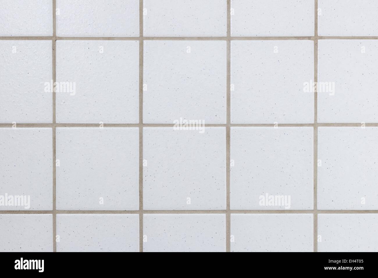 Closeup of a light greywhite ceramic tile wall texture stock closeup of a light greywhite ceramic tile wall texture dailygadgetfo Image collections