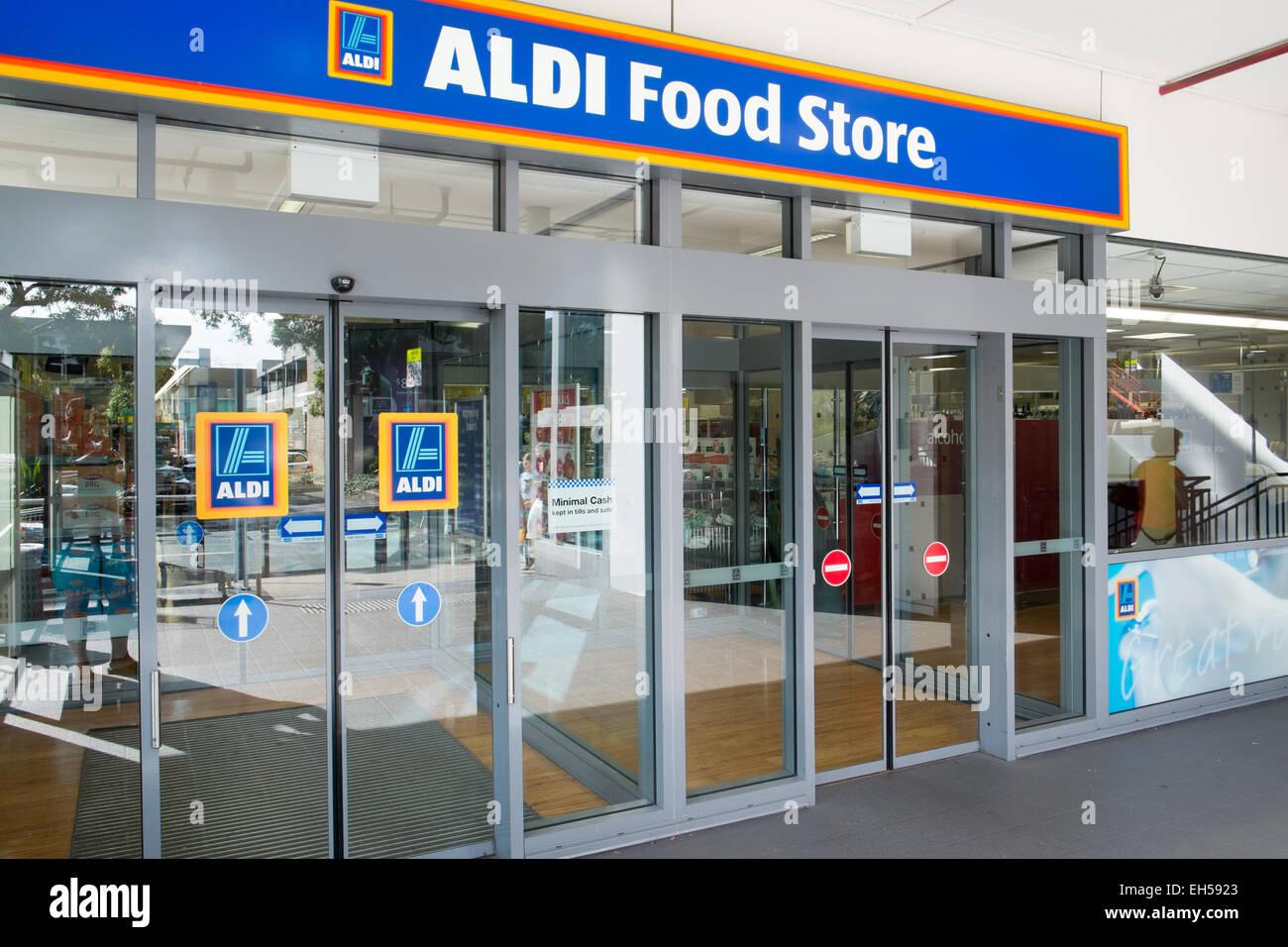 Aldi supermarket food store in mona vale sydney australia for Aldi international cuisine