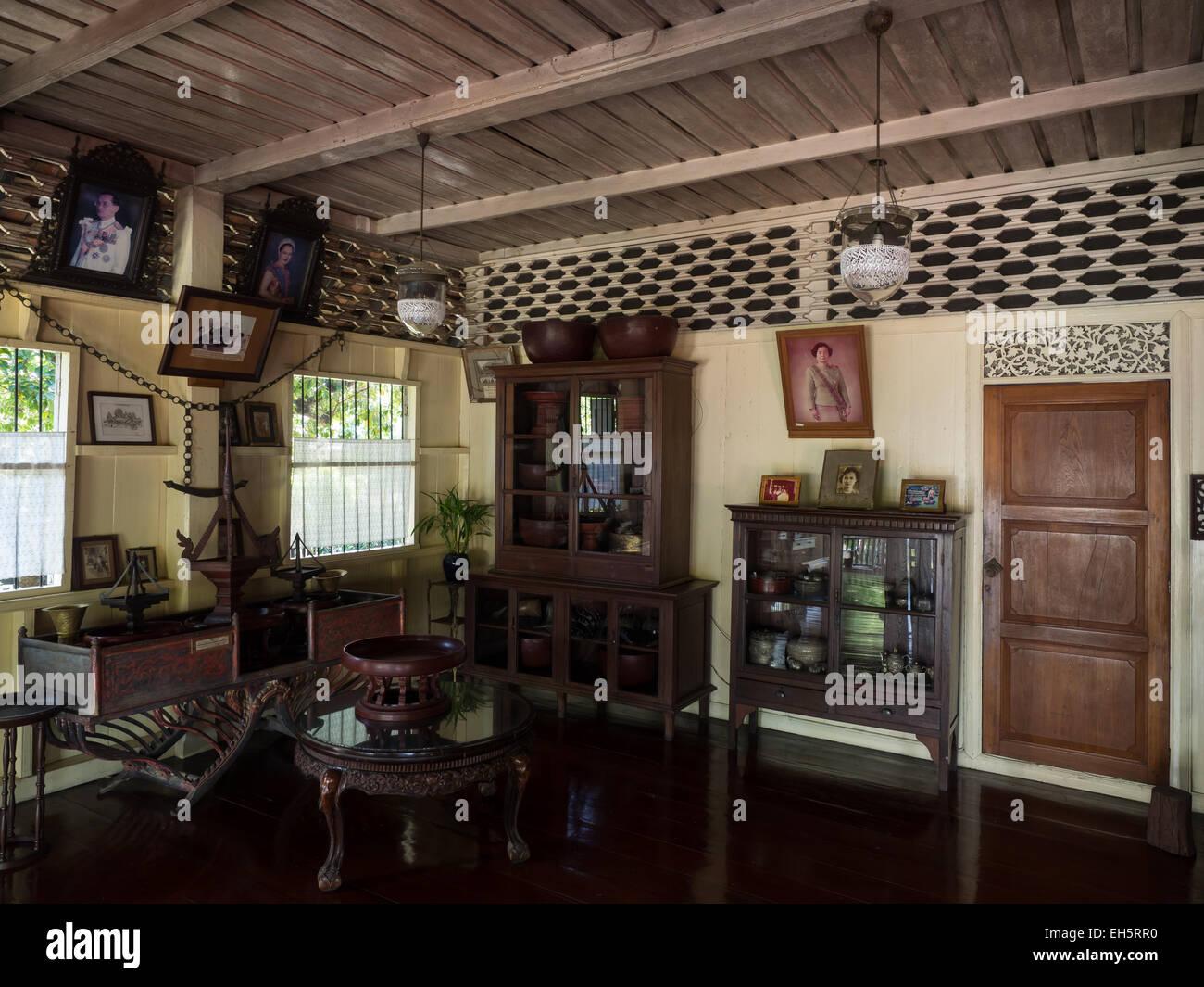Thai style house in thailand house plan 2017 for Thai style interior design