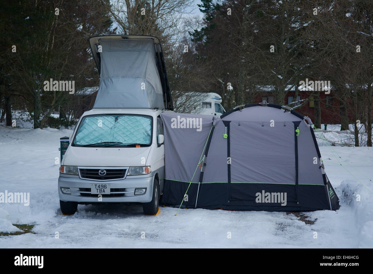Caravans And Motorhomes Winter Camping
