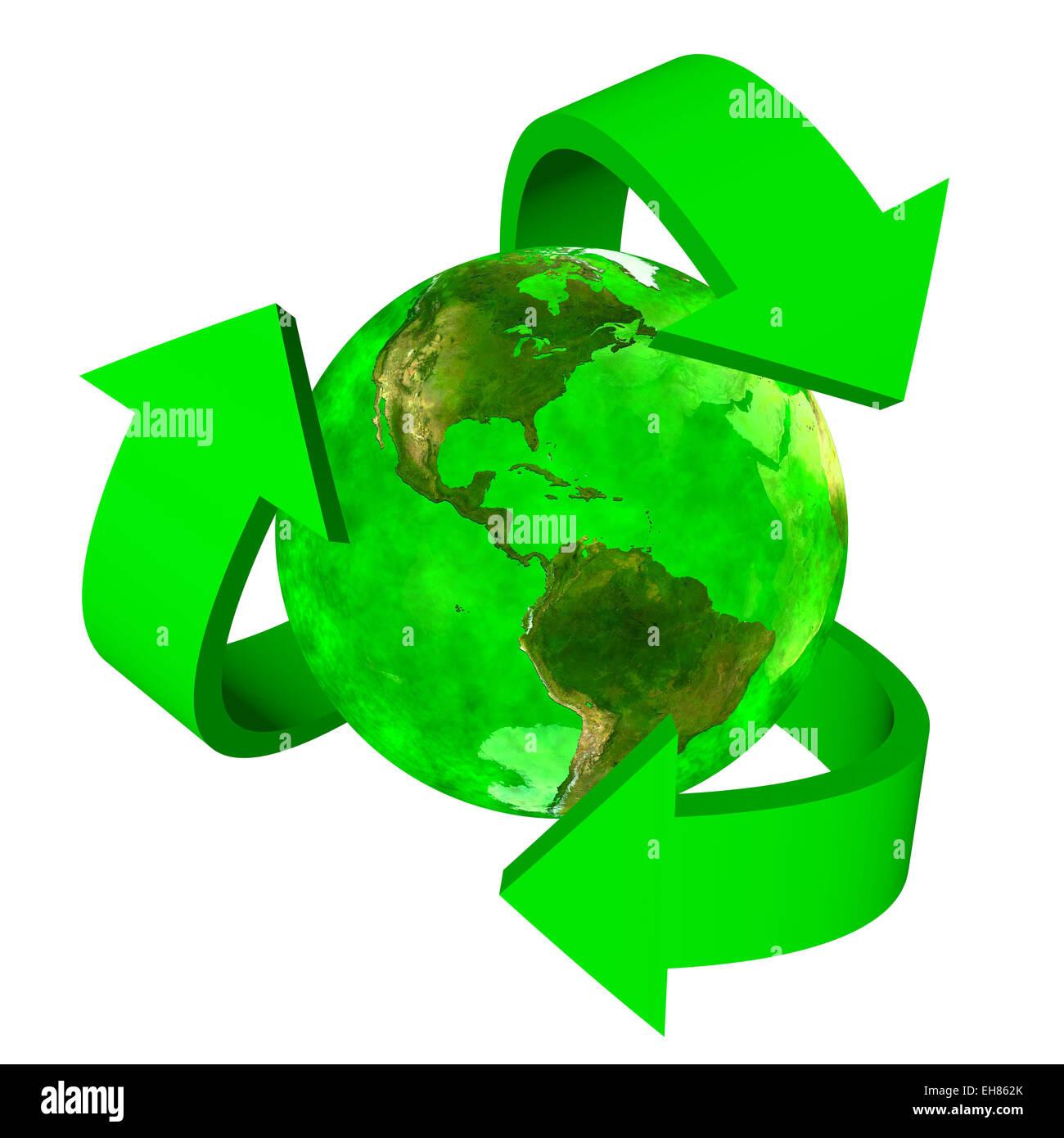 Green earth eco symbol america stock photo royalty free image green earth eco symbol america biocorpaavc