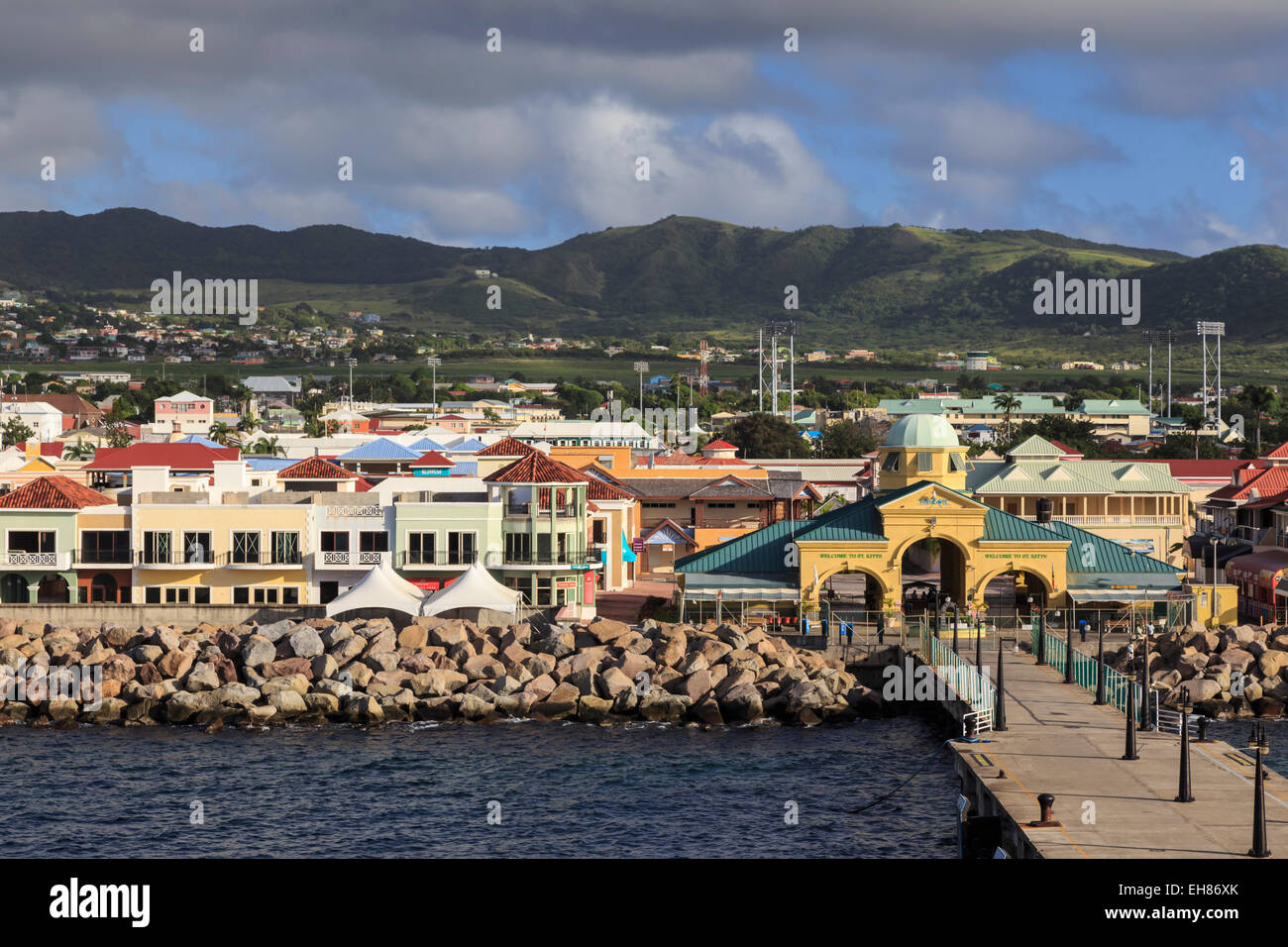 Port Zante Cruise Ship Port Basseterre St Kitts St Kitts And - How many cruise ships in port