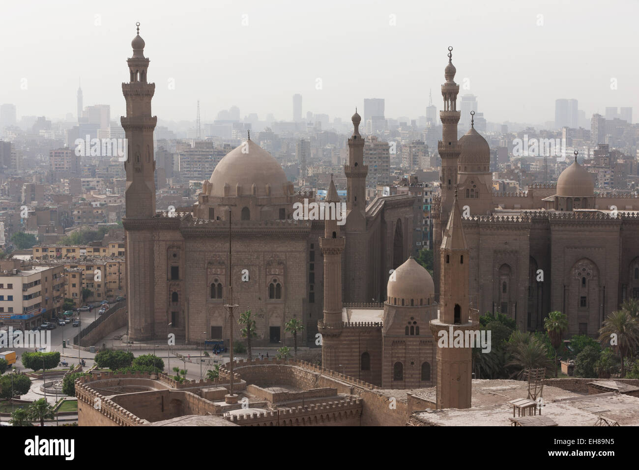 Mosque Of Sultan Hassan In Cairo Old Town, Cairo, Egypt, North Africa,