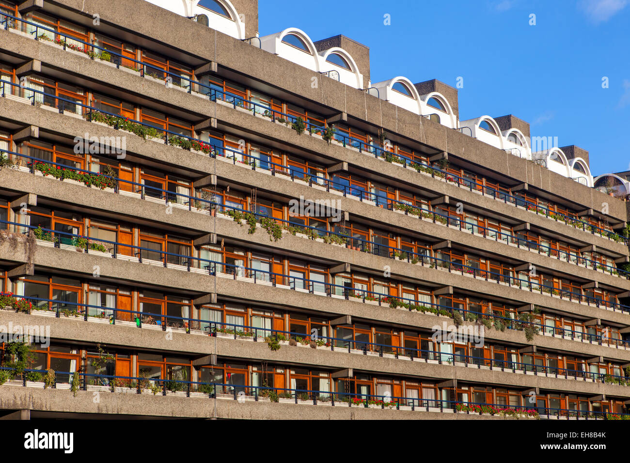 Modern Architecture London England barbican apartments, modernist architecture and high rise