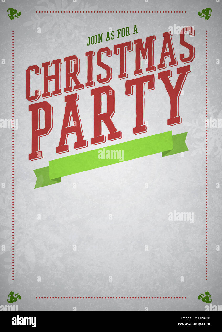 Christmas party invitation poster or flyer background with empty – Party Invitation Flyer