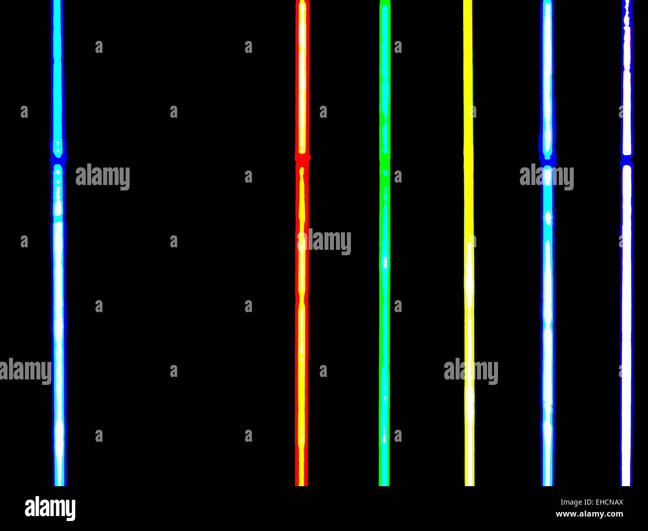 Coloured Neon Lamps