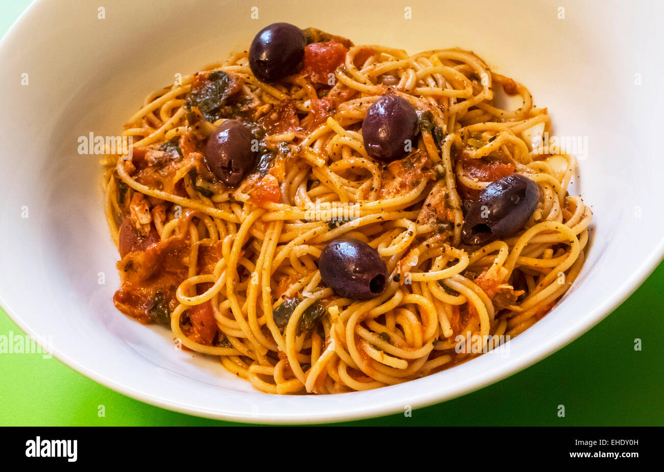 a-bowl-of-spaghetti-with-tuna-and-olives