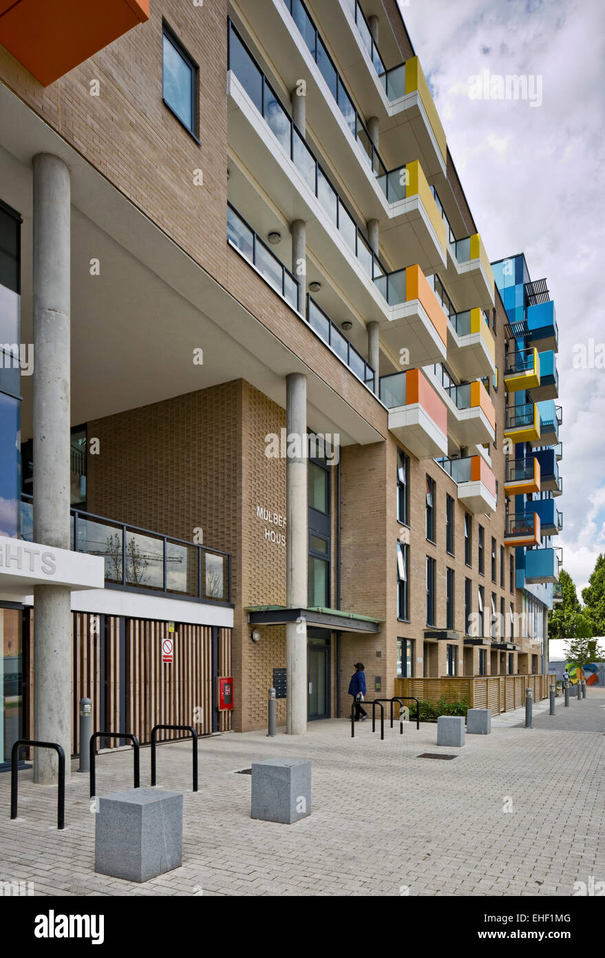 Mulberry House Block Central Park Apartments Lewisham London United Kingdom