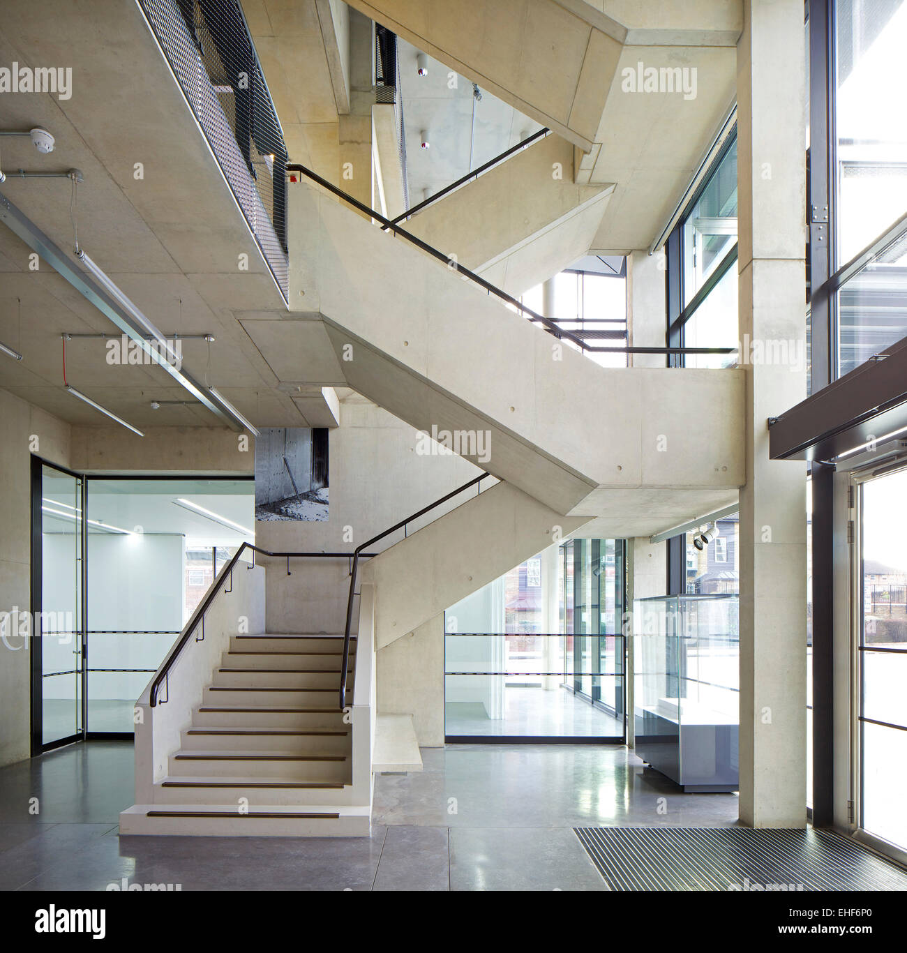 Interior Of The Dyson Building At Royal College Art Battersea London