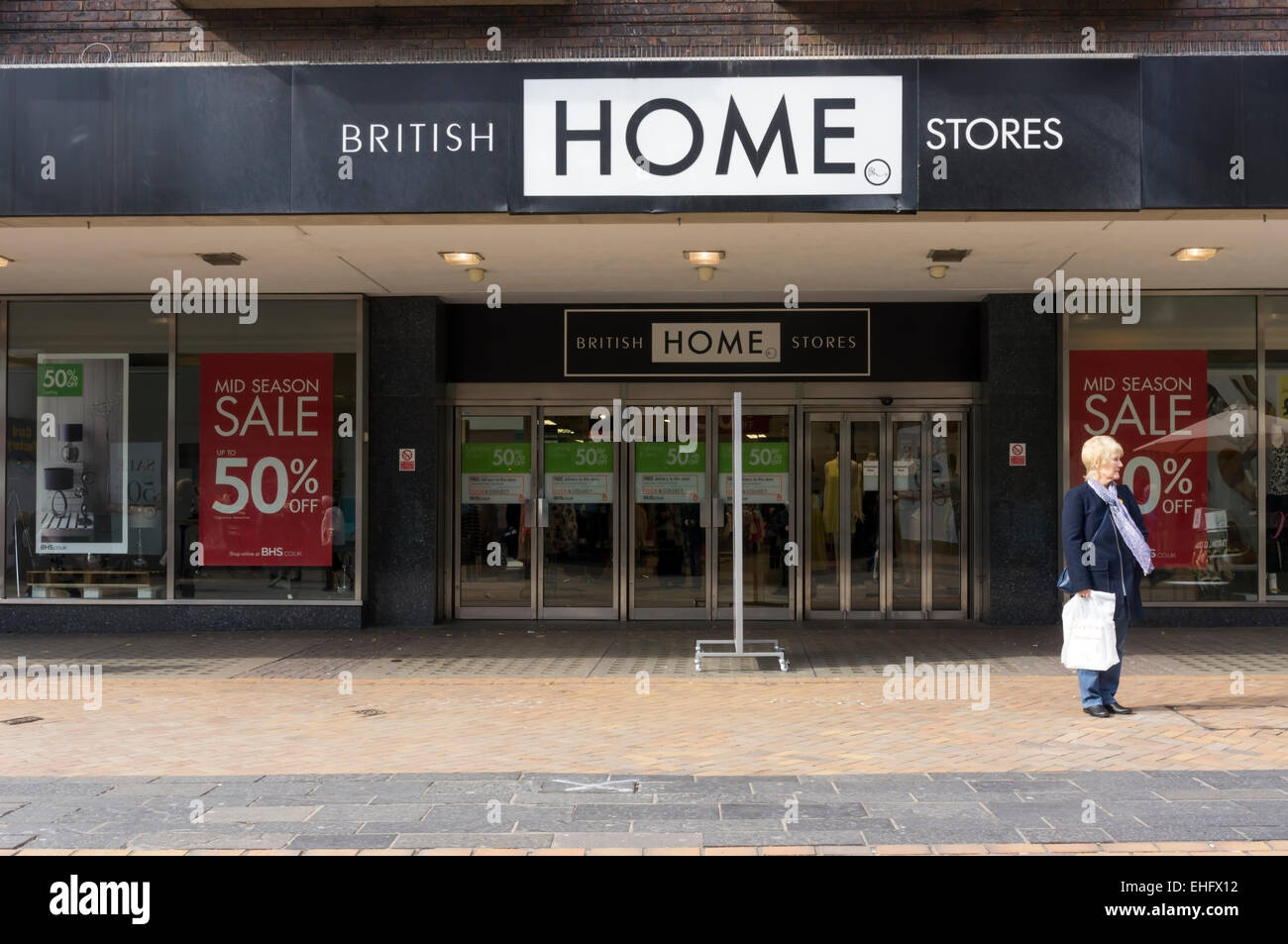 A branch of british home stores or bhs in bromley high for British house store