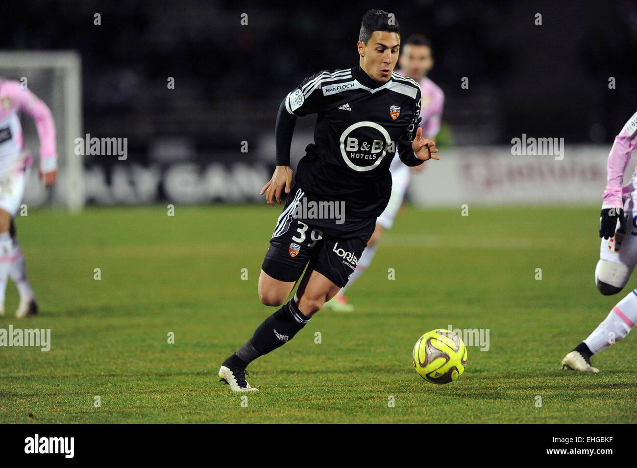 Gianni bruno evian thonon lorient match for Lorient match