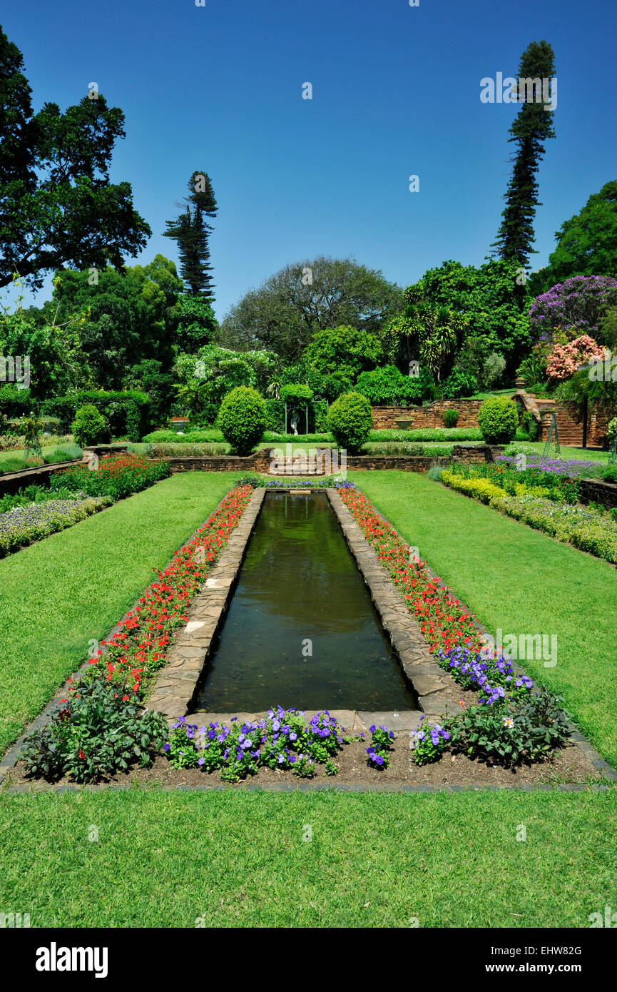 Perfect Pond Lawn And Flowerbed In Sunken Garden Section Of Botanical Garden City  Of Durban South Africa Flowers Gardens Plants Travel