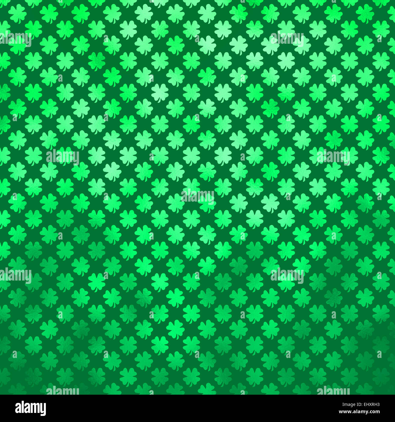 irish shamrock four leaf clover st patrick u0027s day polka dot stock