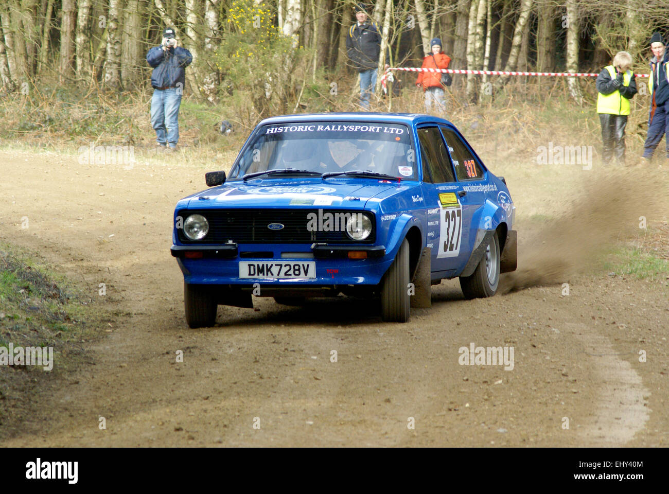 Ford Escort MK2 Rally Car Stock Photo, Royalty Free Image ...