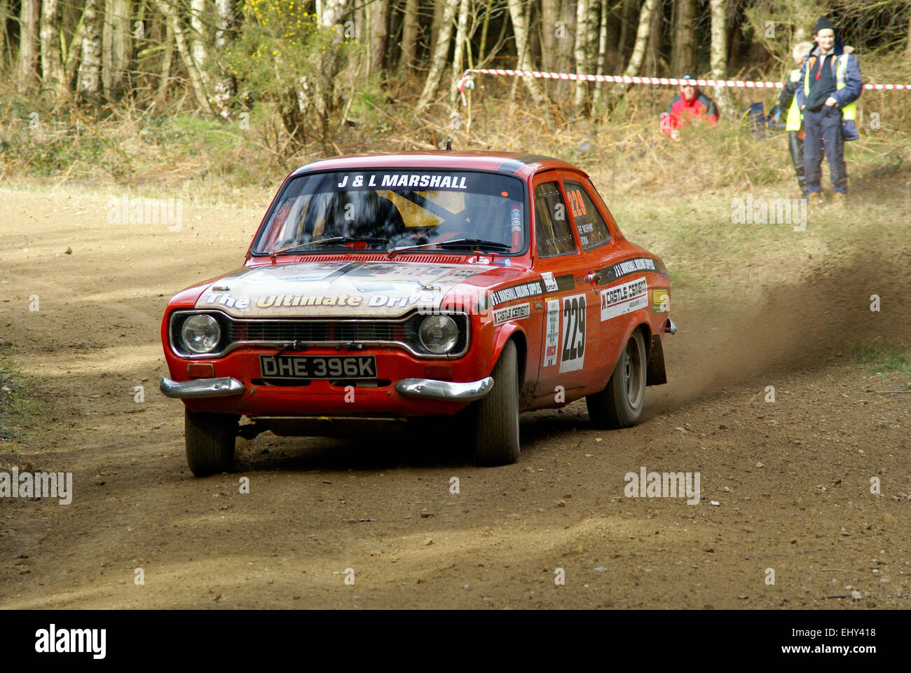 Ford Escort MK1 Rally Car Stock Photo, Royalty Free Image ...