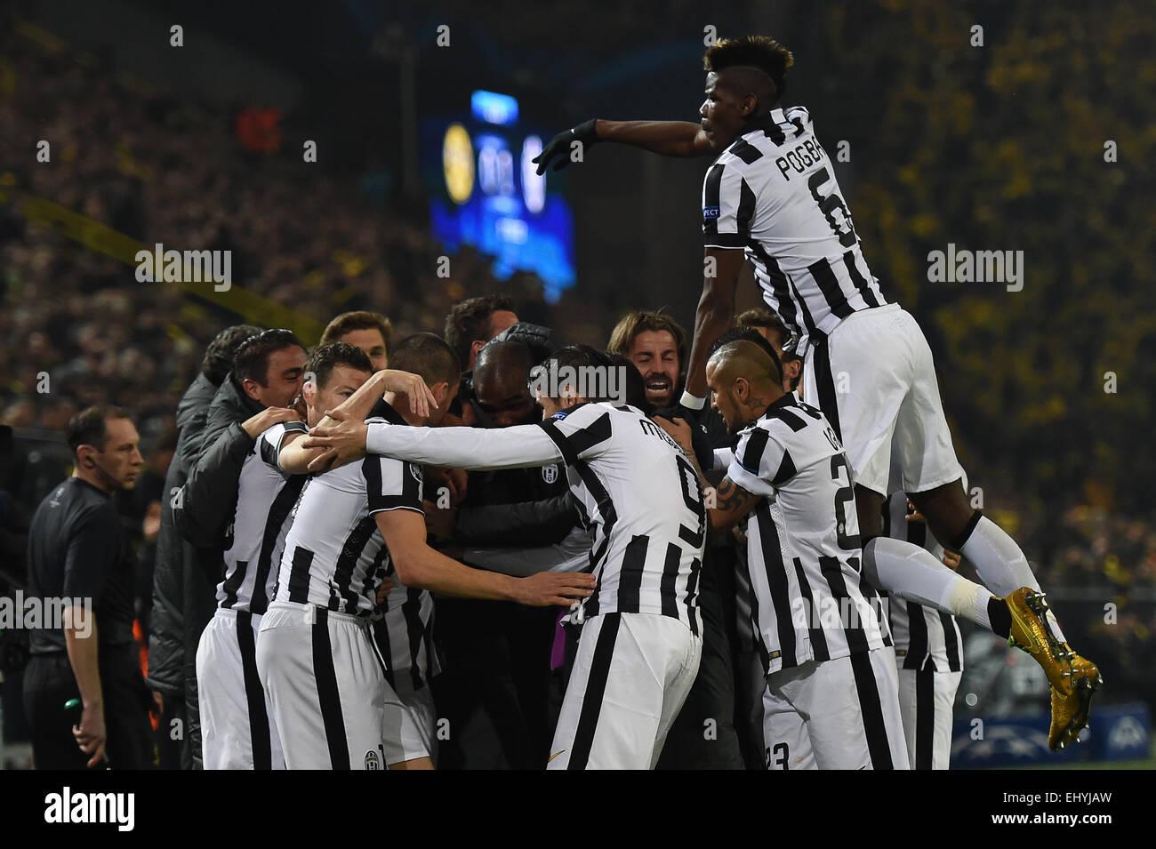 Pogba 2015 Celebrating