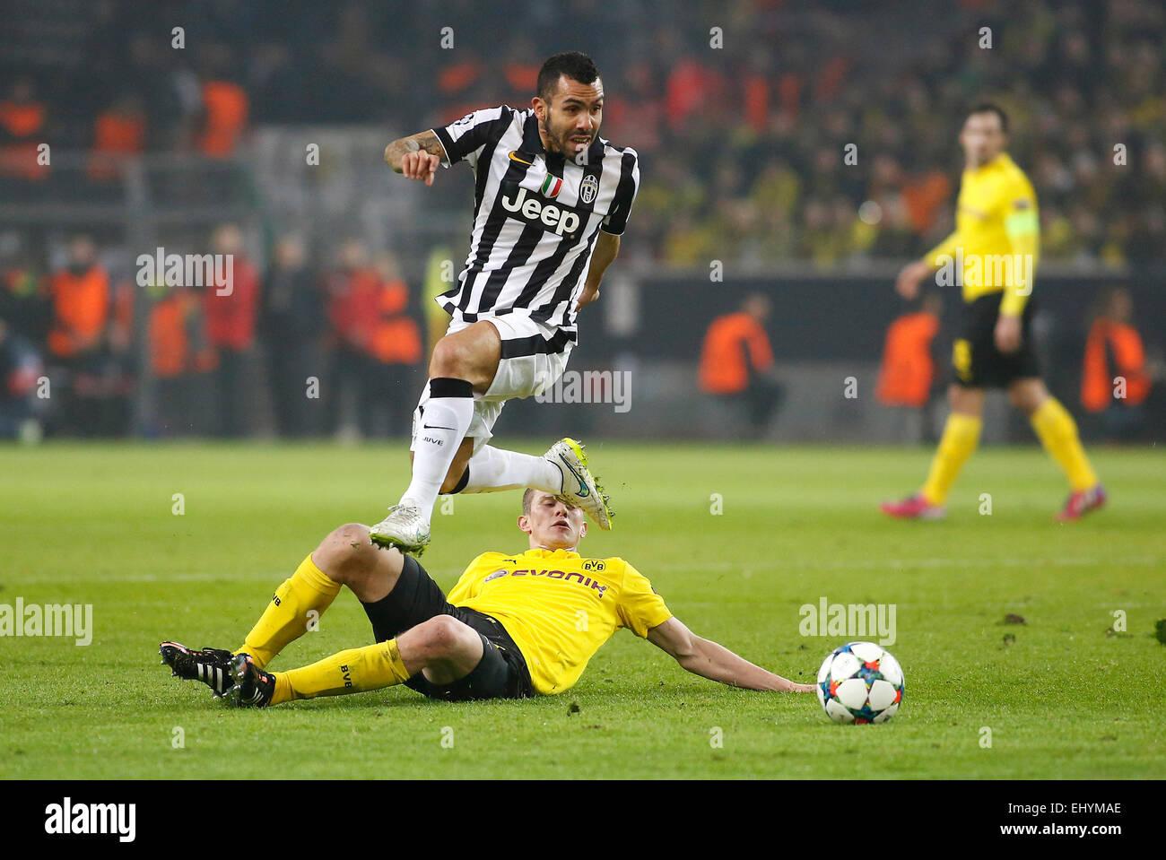 Carlos Dortmund dortmund germany 18th mar 2015 carlos tevez juventus turin