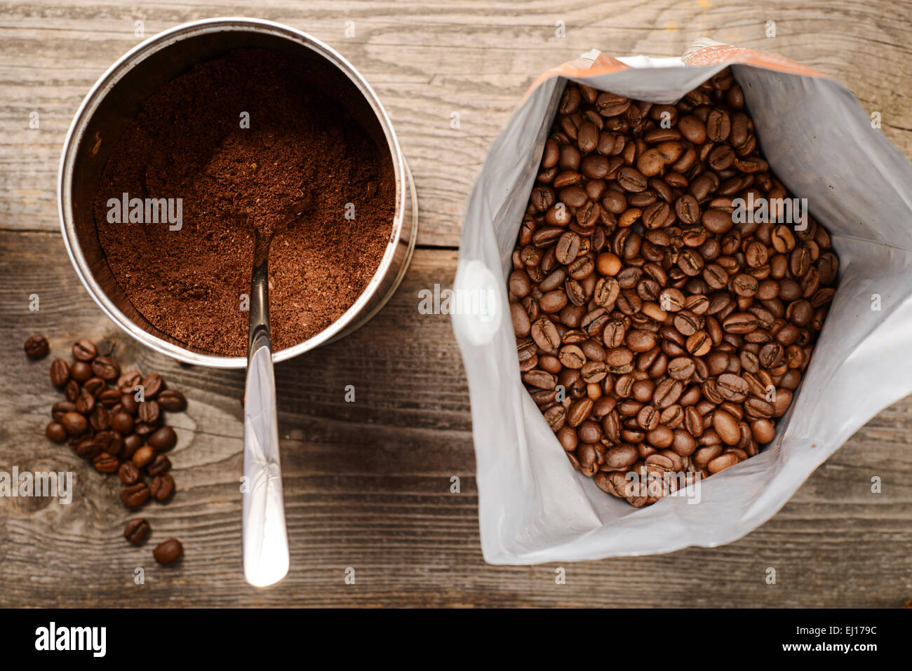 ground coffee stock photo - photo #3
