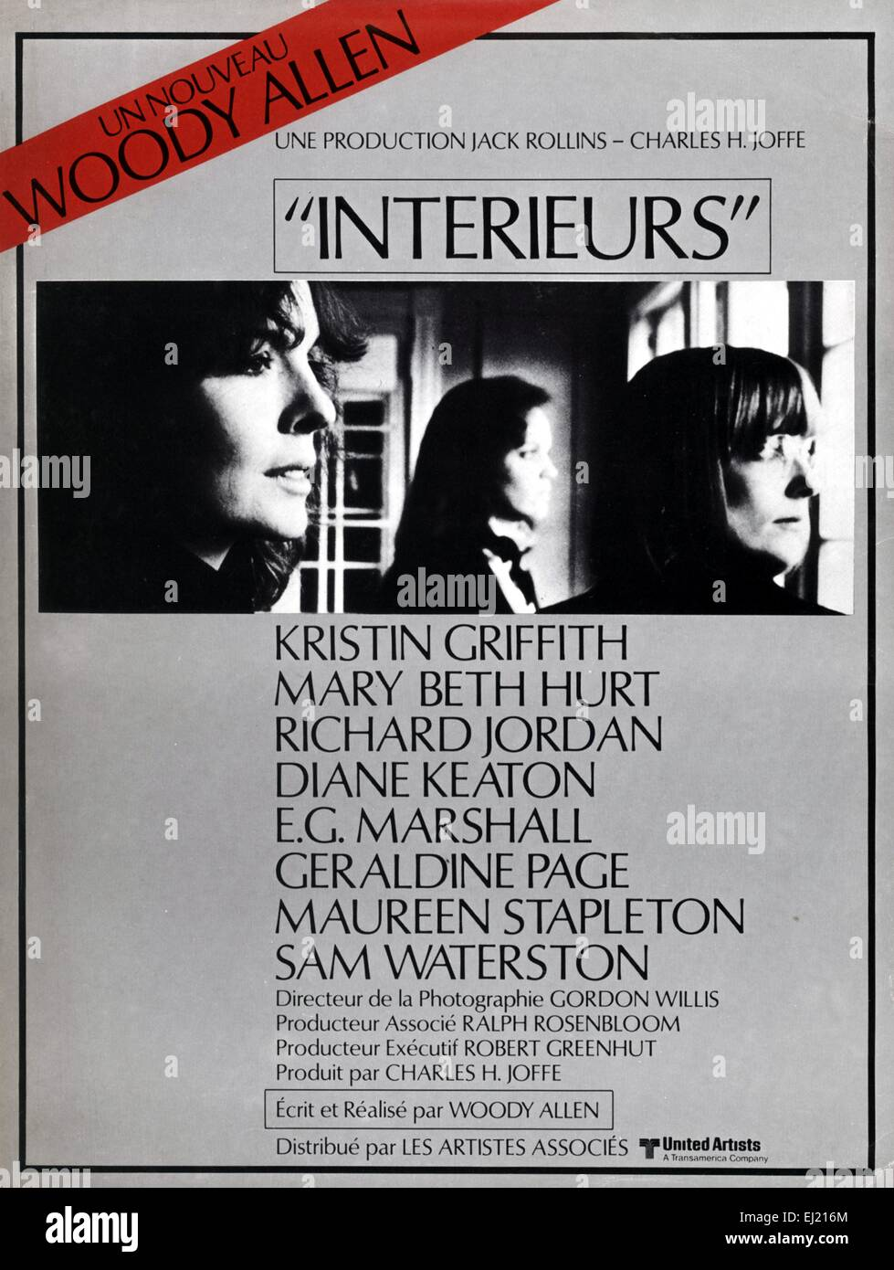 interiors year 1978 usa director woody allen movie poster fr