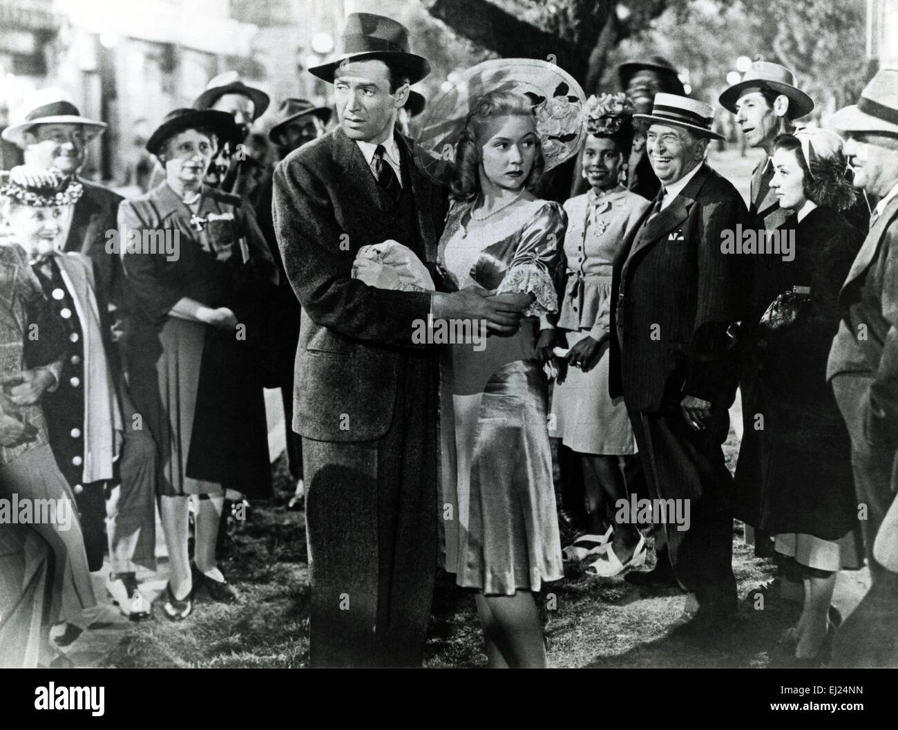 It 39 S A Wonderful Life Year 1946 Usa Director Frank Capra James Stock Photo Royalty Free