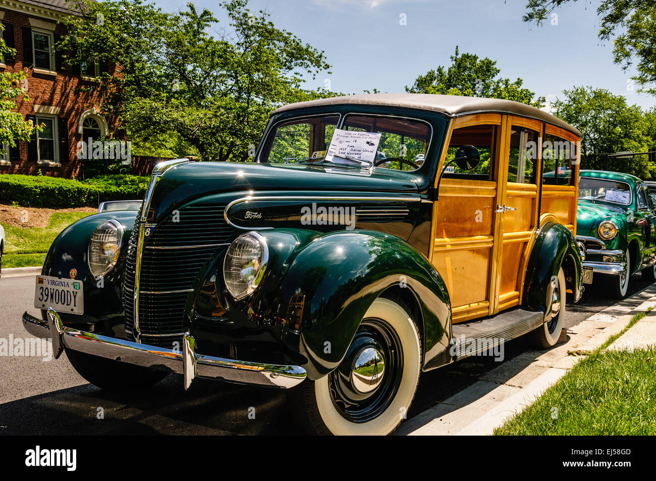 1939 Ford Woody Station Wagon, Antique Car Show, Armstrong Street ...