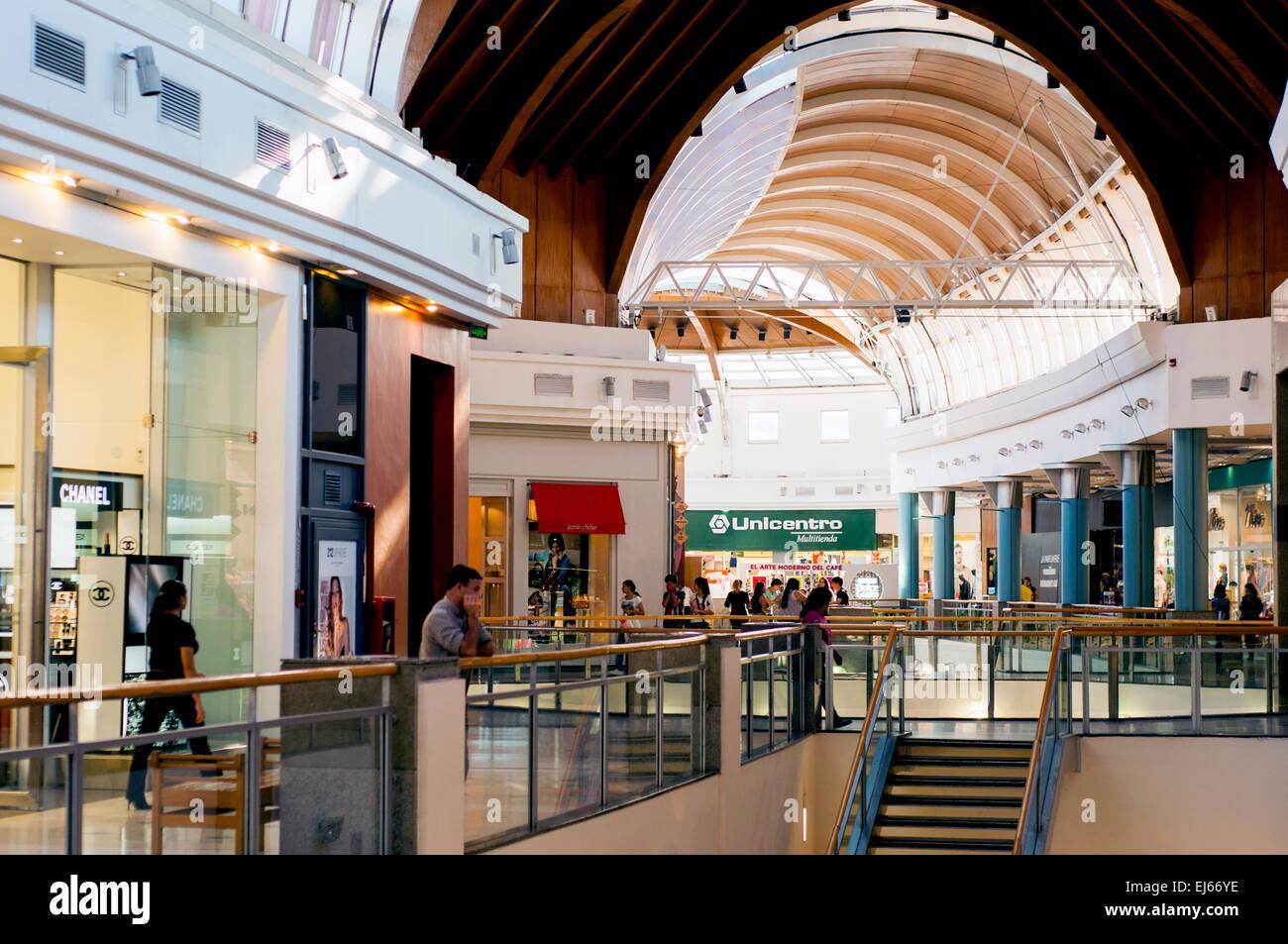 Shopping del Sol shopping mall, Calle Espana, Asuncion ...