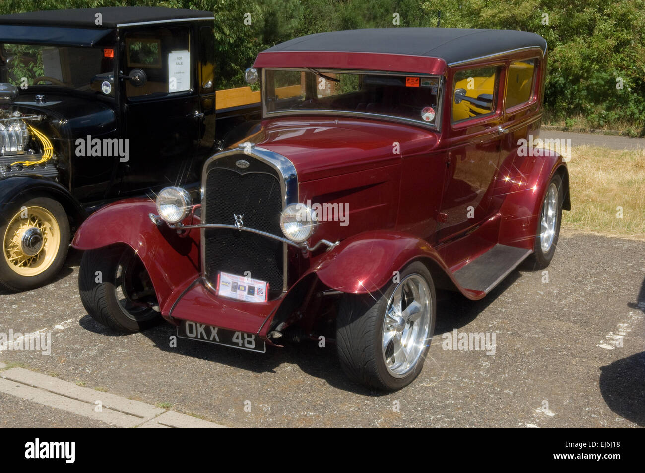 1930 ford model a sedan hot rod stock photo royalty free. Black Bedroom Furniture Sets. Home Design Ideas