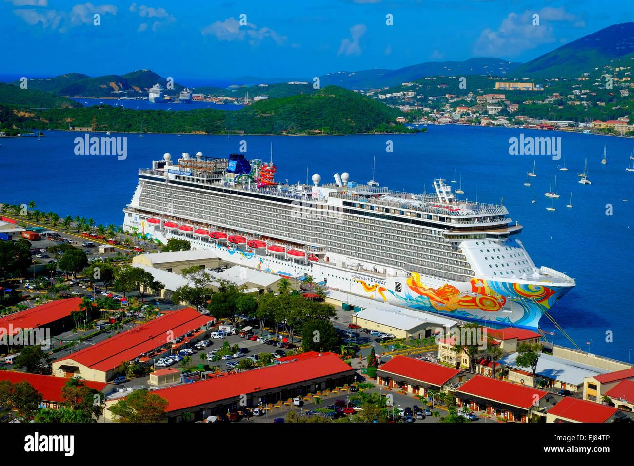 Cruising Southern Caribbean On The Norwegian Getaway At St Thomas - Southern caribbean islands
