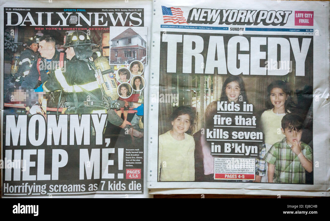 Posts for march page 7 - Front Pages Of The New York Daily News And The New York Post On Sunday