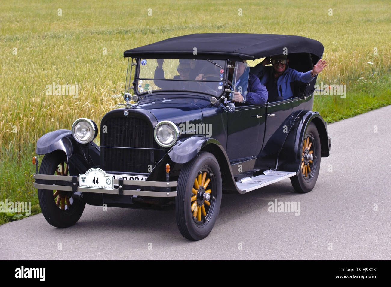 The Cost Of Cars In 1924 - Veteran car dodge built at year 1924 stock image