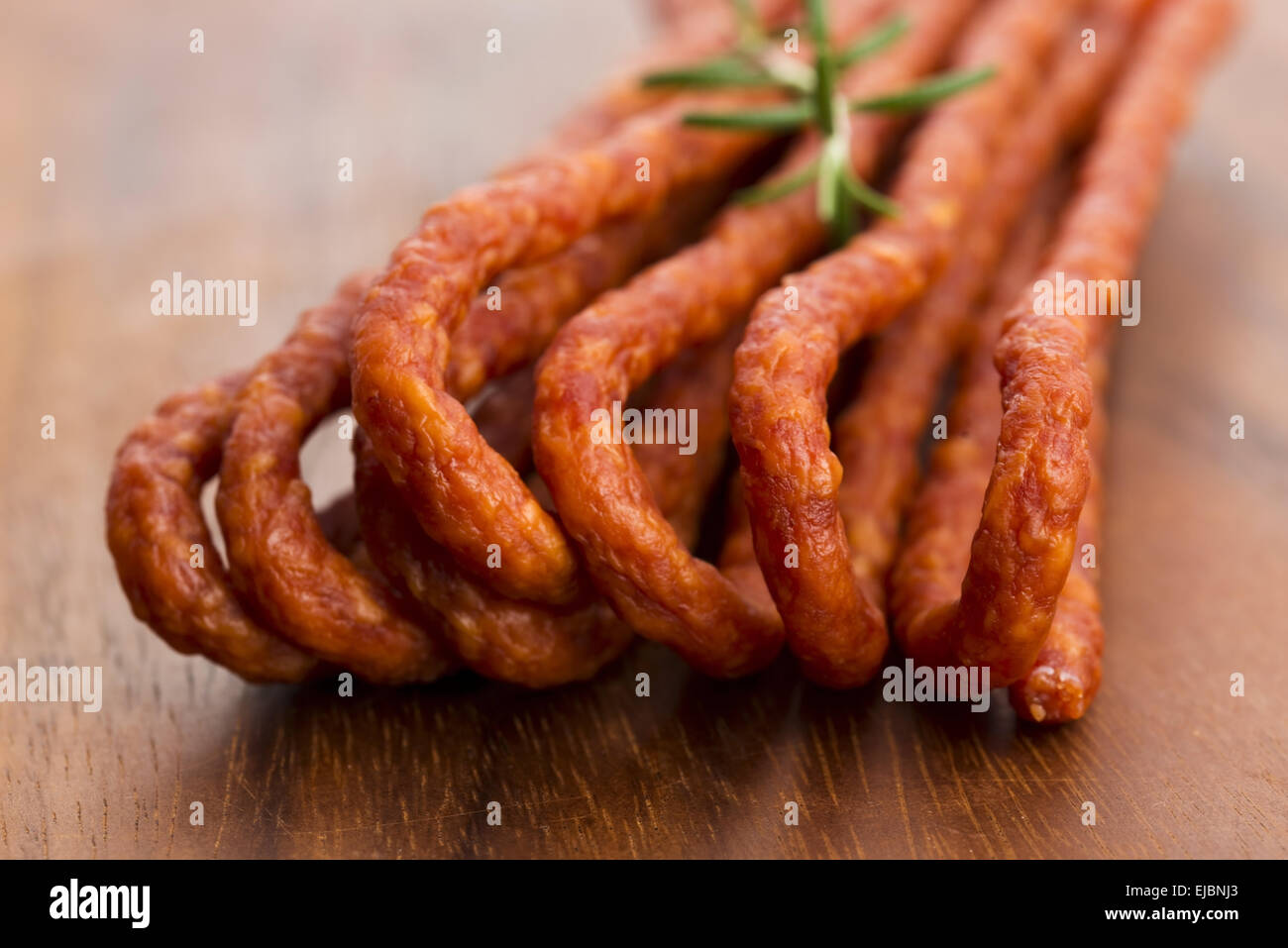 Kabanos Polish Long Thin Dry Sausage Made Of Pork