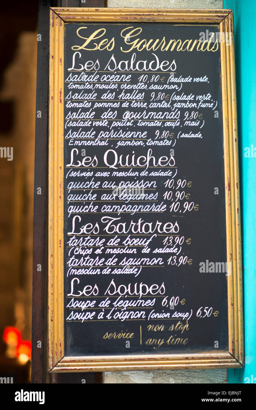 Sidewalk Kitchen Menu