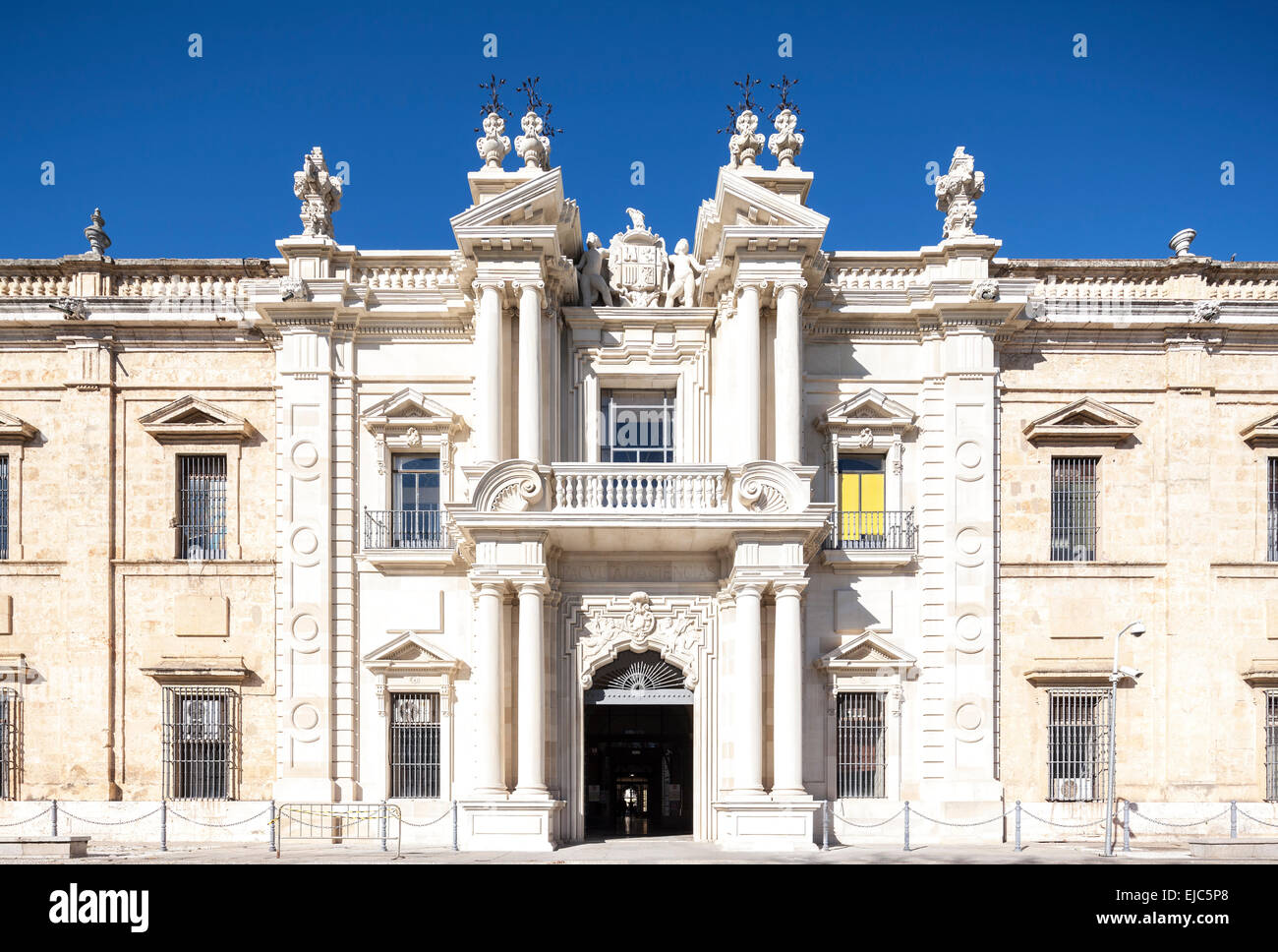 Seville spain royal tobacco factory real fabrica de - Factory sofas sevilla ...