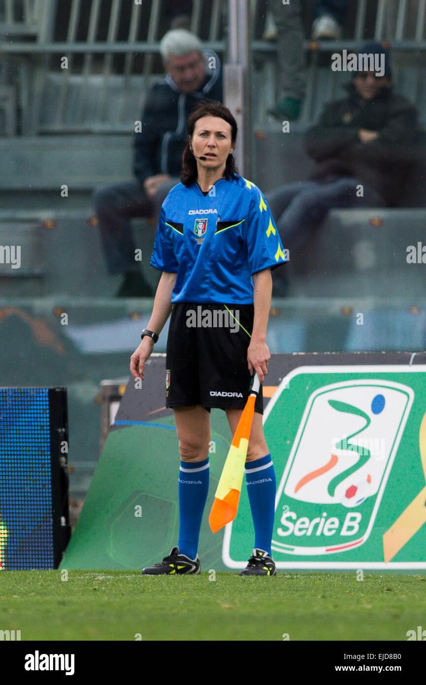 Livorno Italy 21st Mar 2015 Romina Santuari Assistant Referee