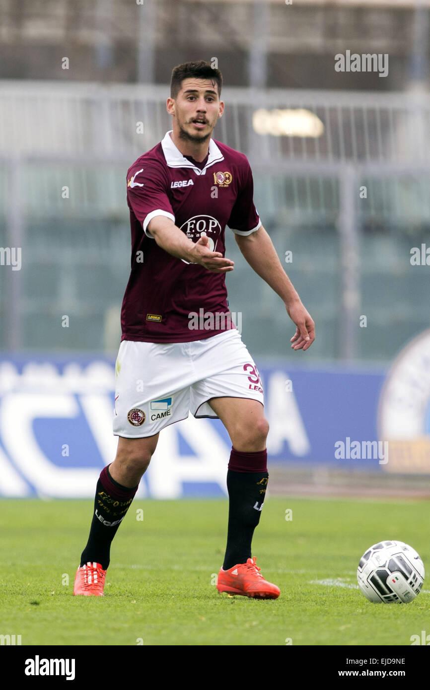 Gabriel Appelt Pires Livorno MARCH 21 2015 Football Soccer