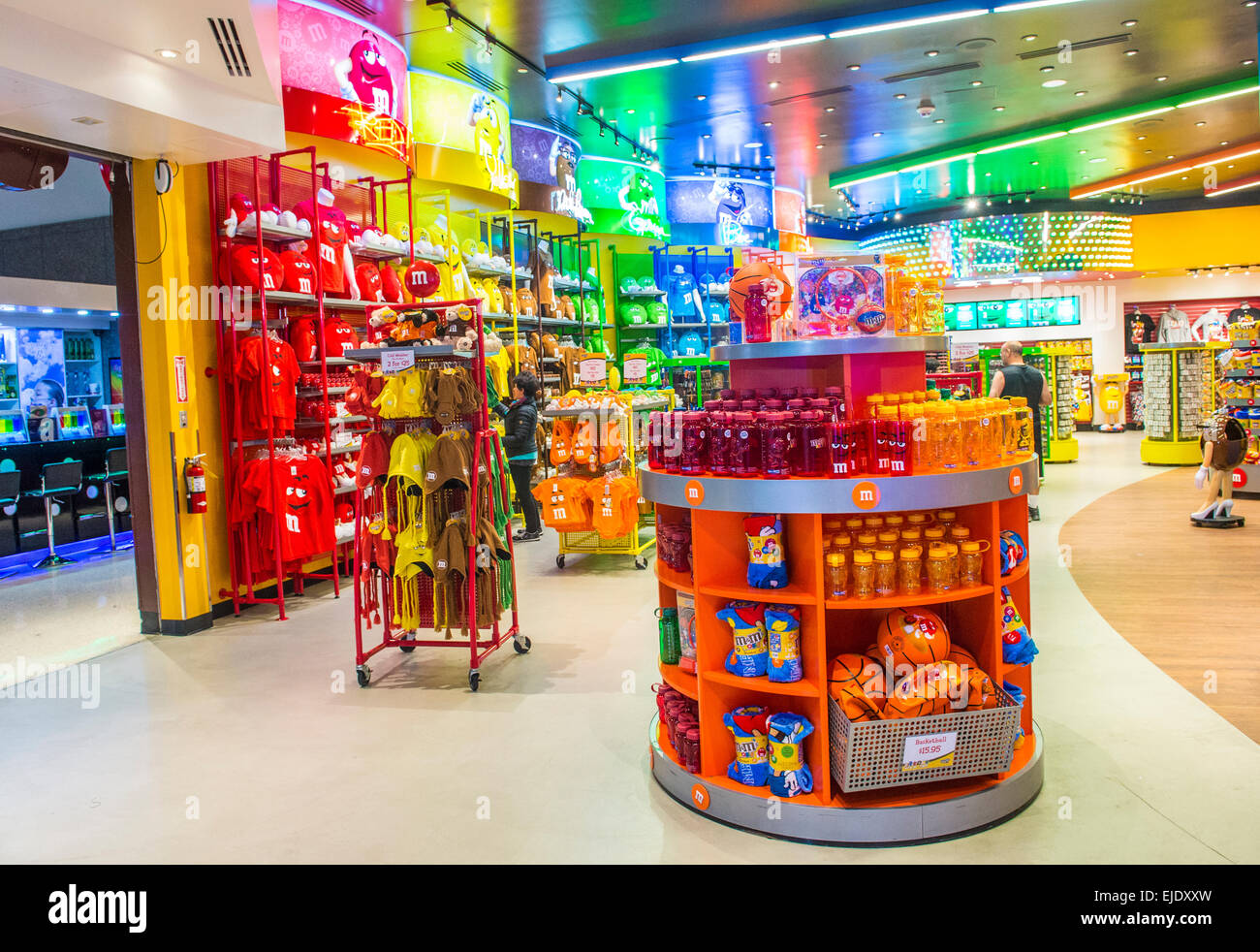 The M&M world store in Las Vegas strip Stock Photo, Royalty Free ...