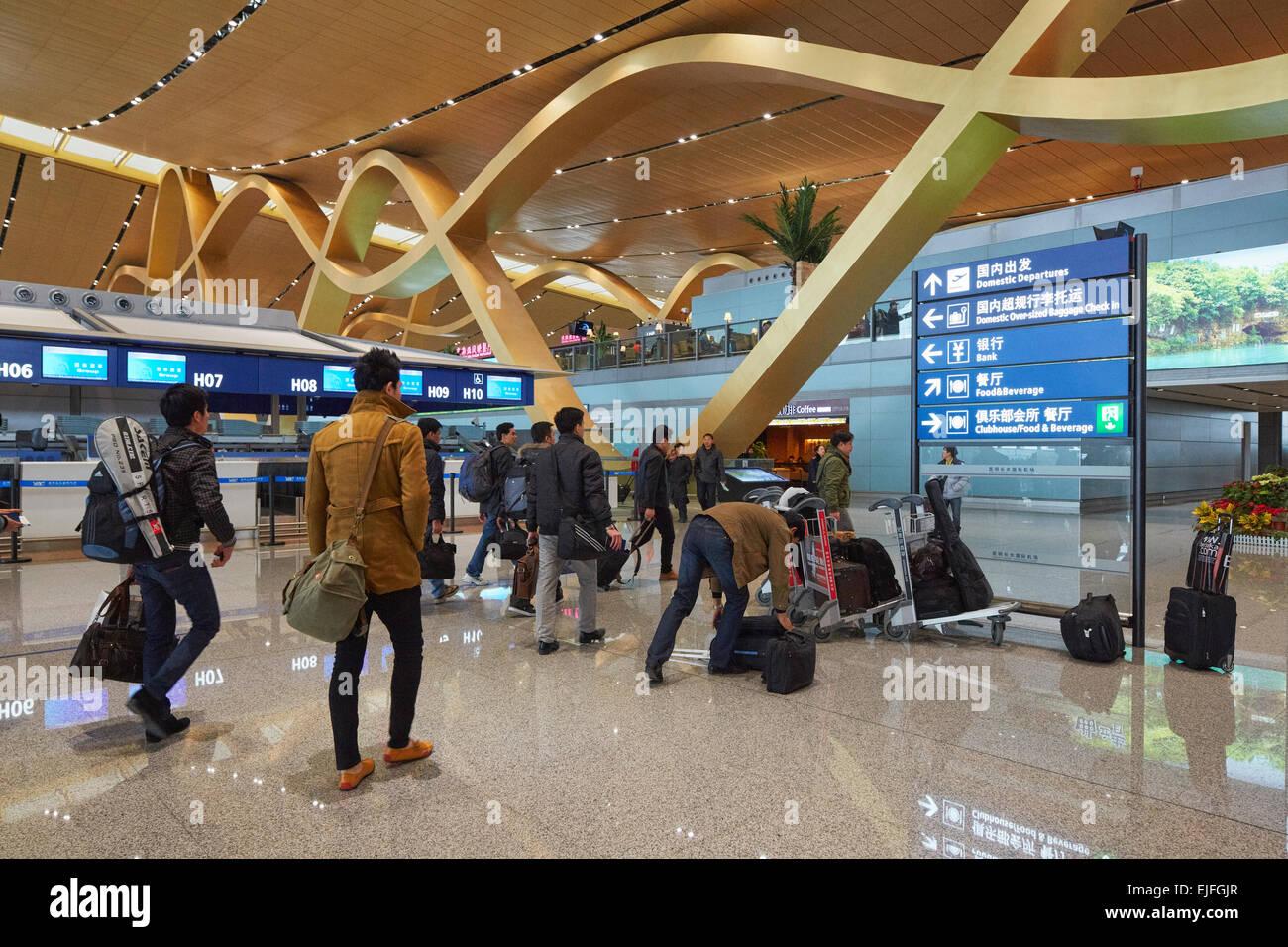Kunming Changshui International Airport Yunnan China
