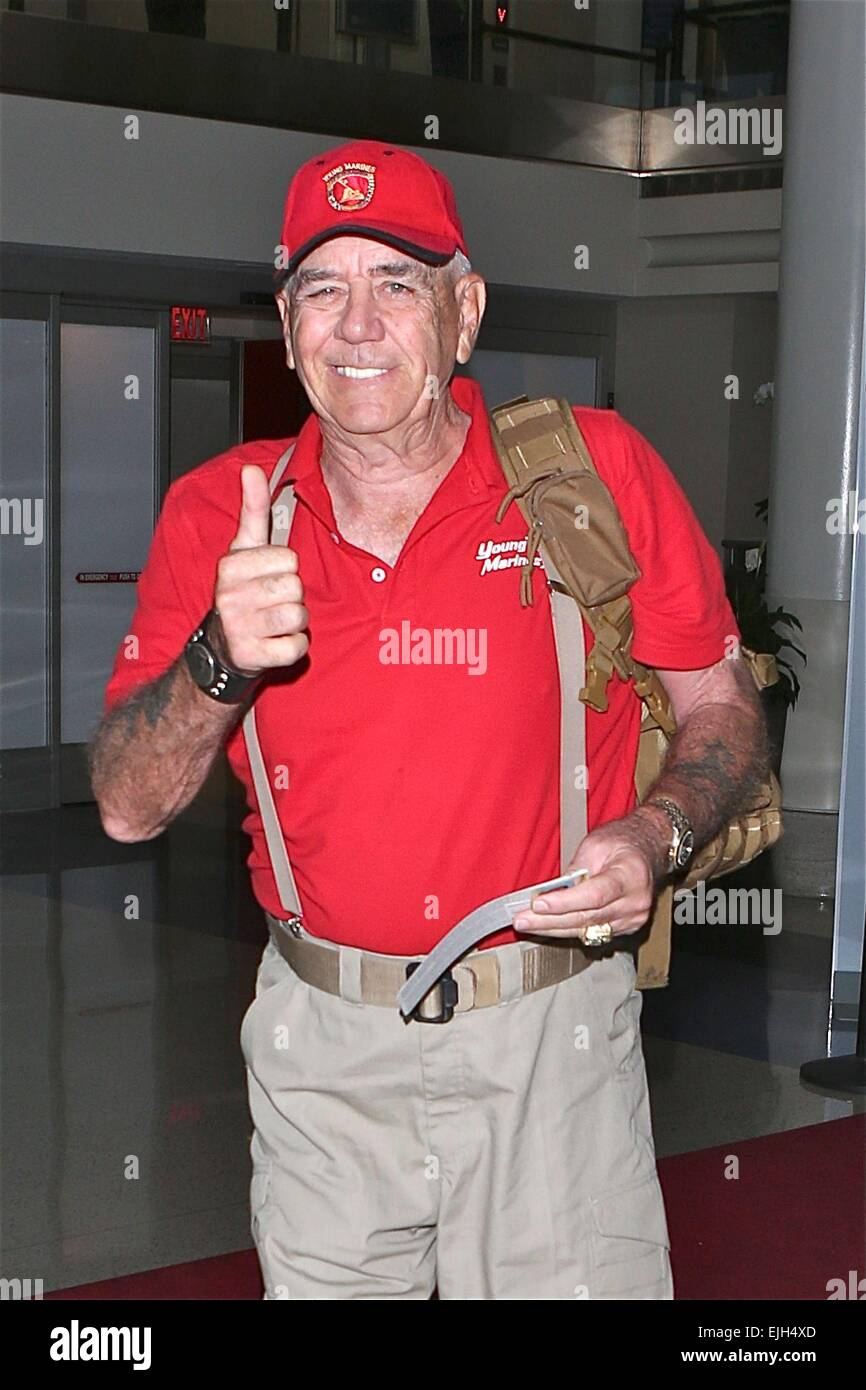 Stock Photo R Lee Ermey Best Known For His Role As The Austere Gunnery