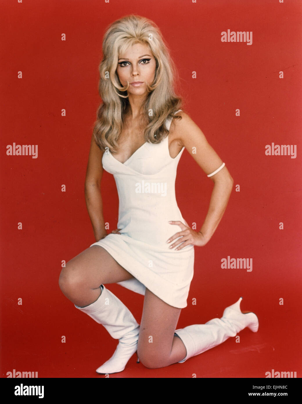 nancy sinatra promotional photo of us film actress and singer about stock photo royalty free. Black Bedroom Furniture Sets. Home Design Ideas