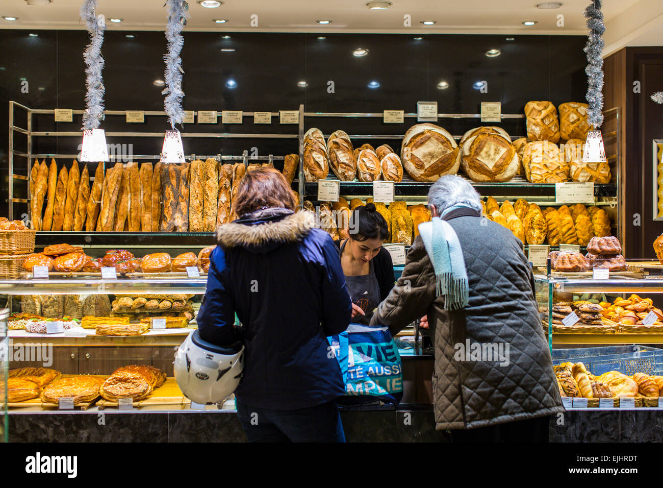 eric kayser home made bread shop paris france stock photo royalty free image 80296884 alamy. Black Bedroom Furniture Sets. Home Design Ideas