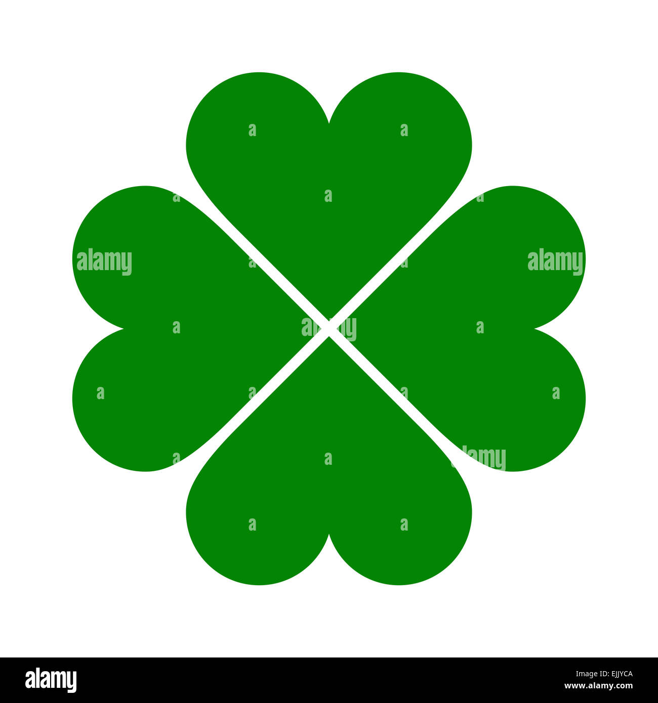 Clover with four leaves icon saint patrick symbol isolated on saint patrick symbol isolated on white background biocorpaavc