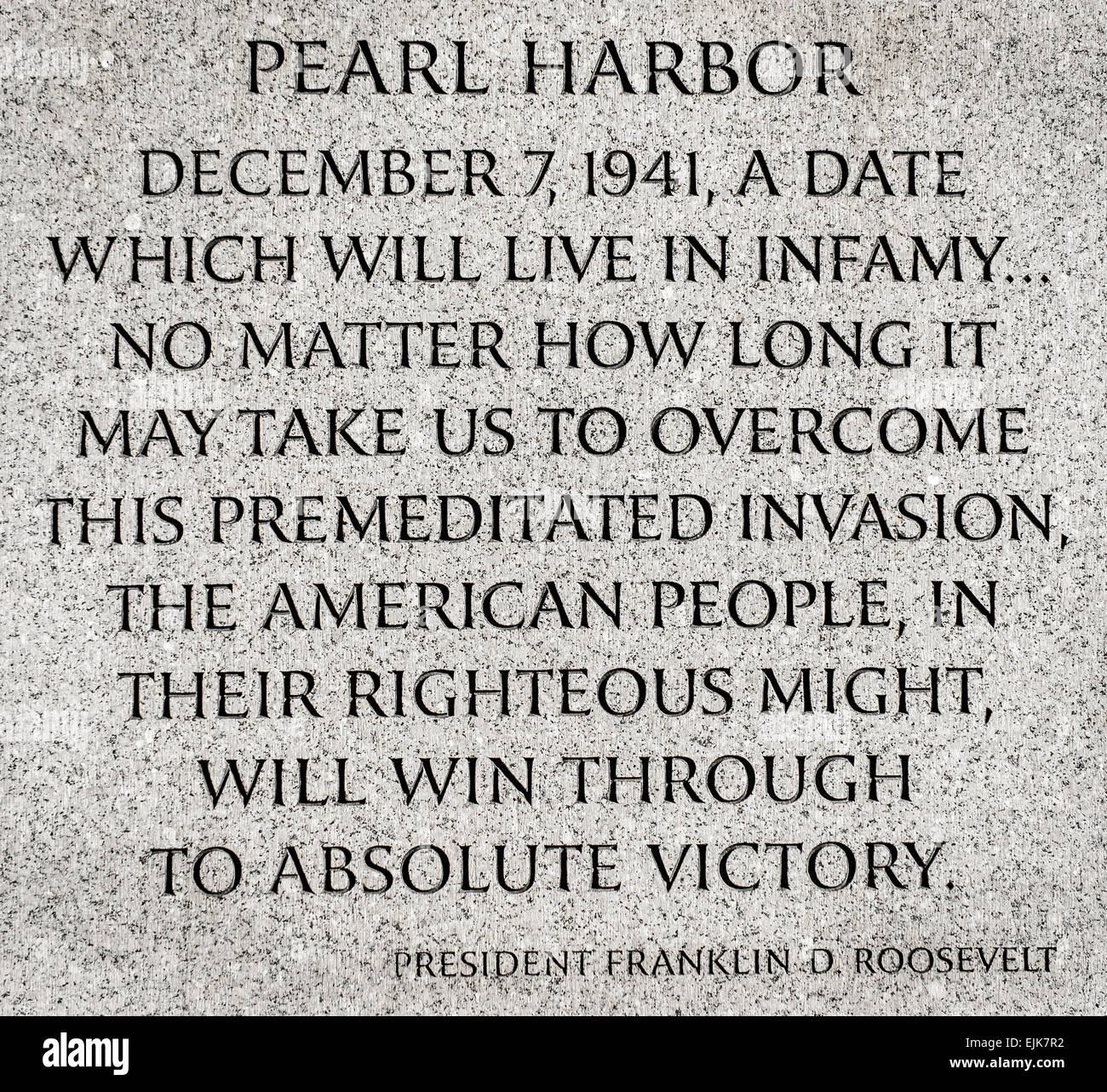 franklin roosevelt pearl harbor address Franklin delano roosevelt's famous day of infamy speech after the pearl  harbor attack almost didn't include the famous phrase.